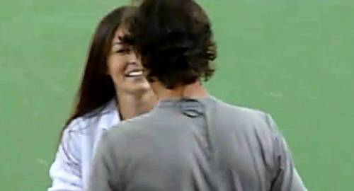...but later Nadal kissed girl !