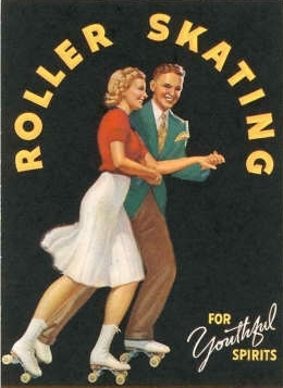 ~~on rollers~~