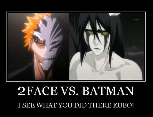 2FACE VS. batman
