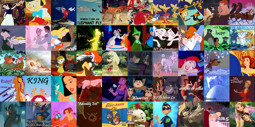50 Disney Movie ikon-ikon