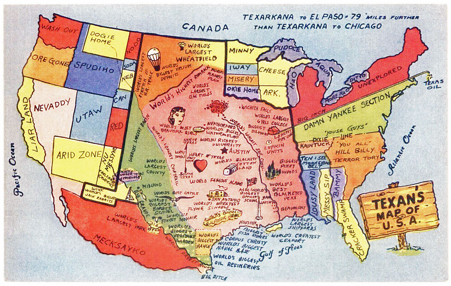 Map Of America Texas.A Texan S Map Of America Texas Fan Art 21994249 Fanpop