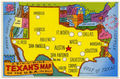 A Texan's map