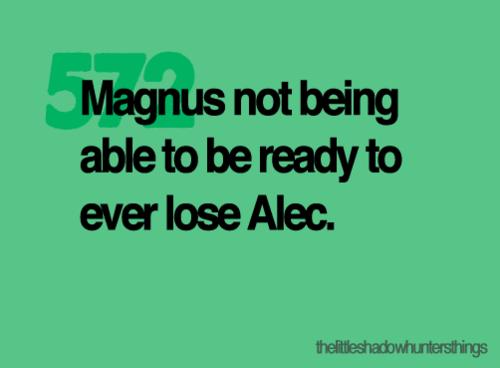 Alec & Magnus