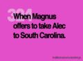 Alec & Magnus