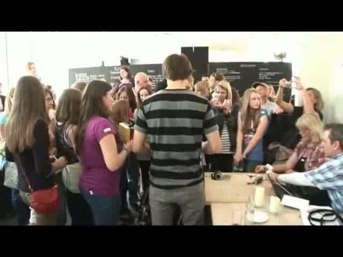 Alex in the meeting with his fans in Germany :)