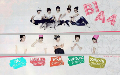 B1A4 wallpaper titled B 1 A 4
