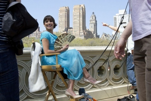 """Behind the scenes of """"New York"""" によって Hollywood Reporter."""