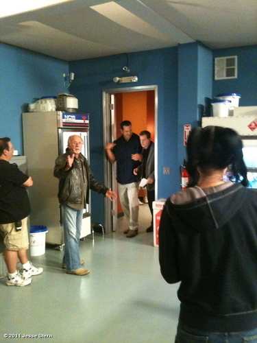 "Behind the scenes of ""Swan Song"""