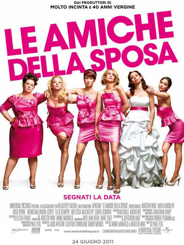 Bridesmaids wolpeyper possibly with a maillot called Bridesmaids Poster