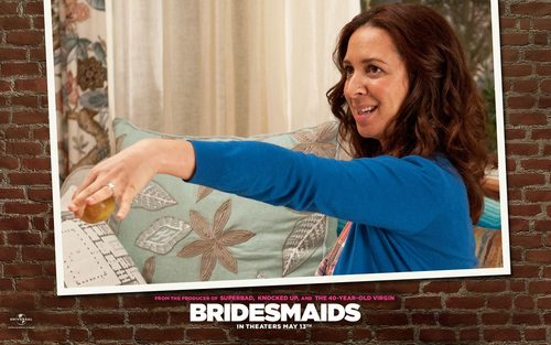 Bridesmaids wallpaper titled Lillian Wallpaper