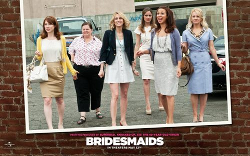 Bridesmaids wallpaper probably with a business suit titled Bridesmaids Wallpaper
