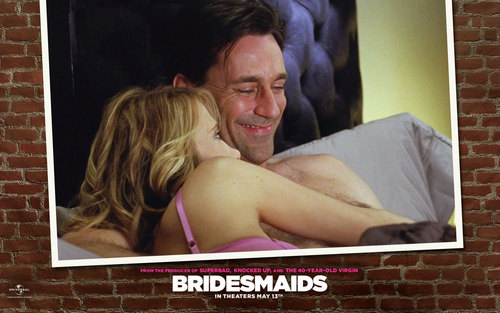 Bridesmaids wallpaper titled Annie & Ted Wallpaper