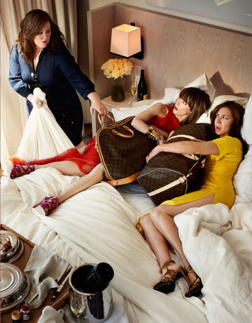 Bridesmaids in Harper's Bazaar - bridesmaids Photo