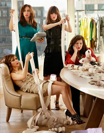 Bridesmaids wallpaper probably with bare legs entitled Bridesmaids in Harper's Bazaar