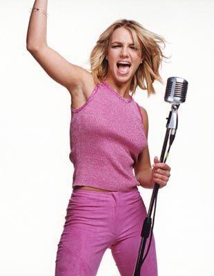 Britney Spears-2000 Herbal Essences Adverts