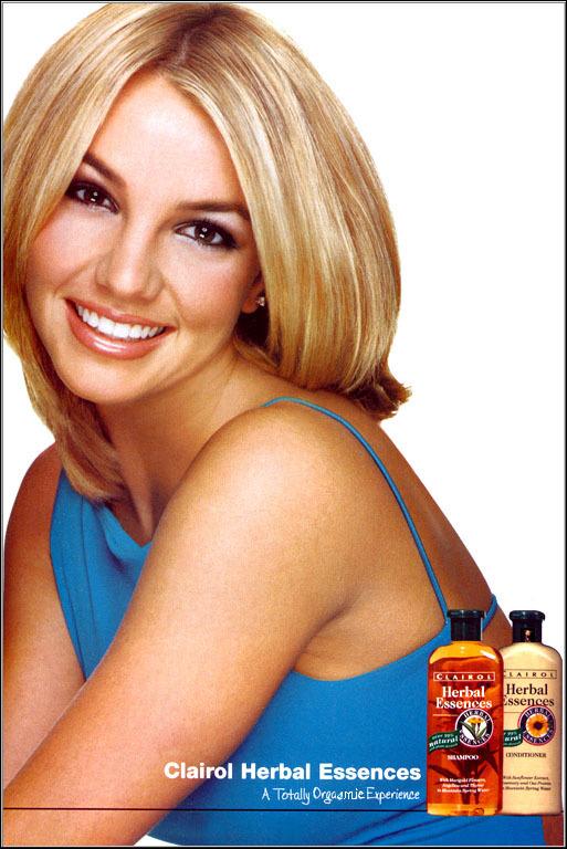Britney spears 2000 herbal essences adverts britney