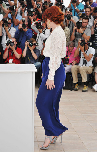 "Bryce attend the ""Restless"" photocall during the 64th Annual Cannes Film Festival on May 13"
