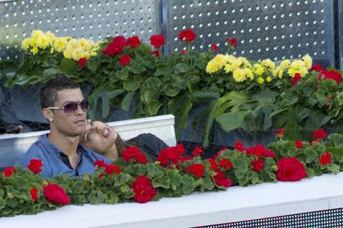 C. Ronaldo at Mutua Madrilena Madrid Open