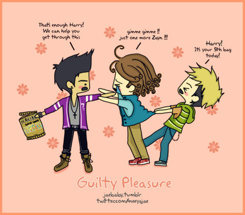 Cartoon of Zayn,Harry & Niall