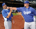 Casey Blake and Broxton Joking Around - los-angeles-dodgers icon