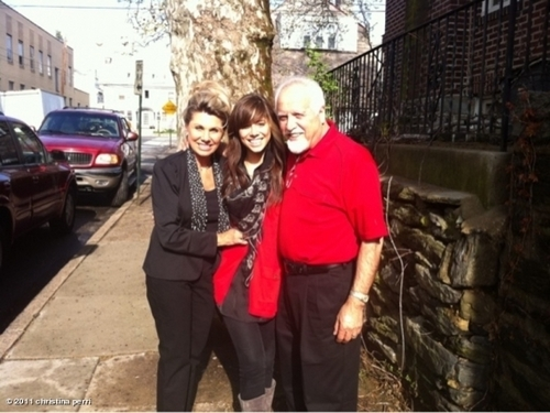 Christina and parents