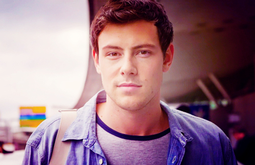 Cory Monteith achtergrond probably containing an outerwear and a box jas titled Cory.