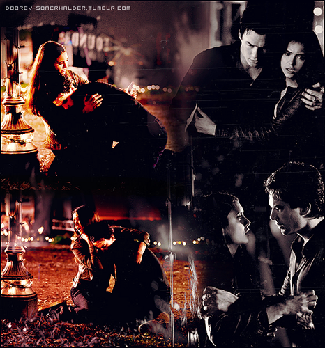 Damon/Elena 2x22ღ