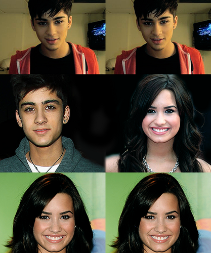 Demi Lovato Zayn Malik 100 Real Pixshark Images Galleries Bite