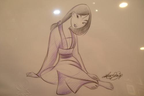 ディズニー Princess drawings