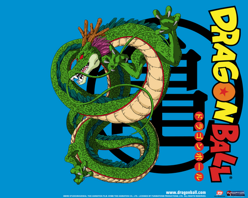dragon ball z wallpaper possibly with anime entitled Dragonball shenron
