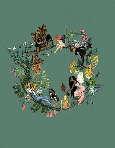 Fairies wallpaper probably containing a pondweed, a japanese apricot, and duckweed entitled Fairies