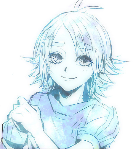 Fubuki Shiro in blue