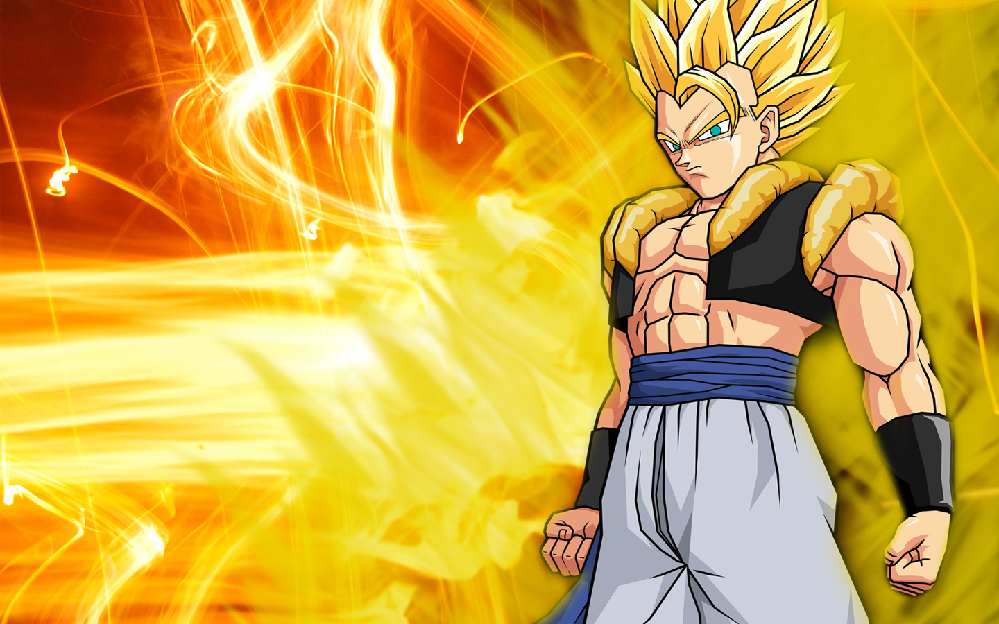 Gogeta Dragon Ball Z Fond D écran 21941217