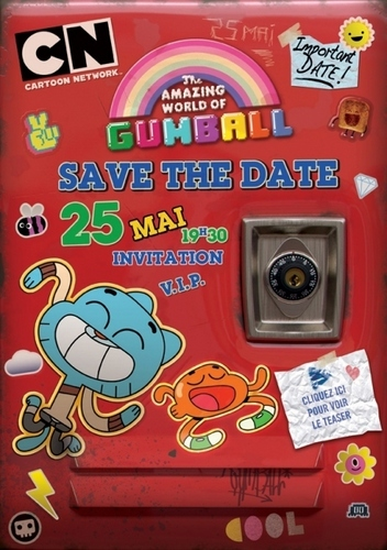 Gumball Save the tarehe V.I.P