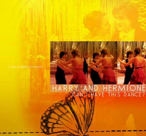 harry y hermione fondo de pantalla possibly containing a sign called H&Hr