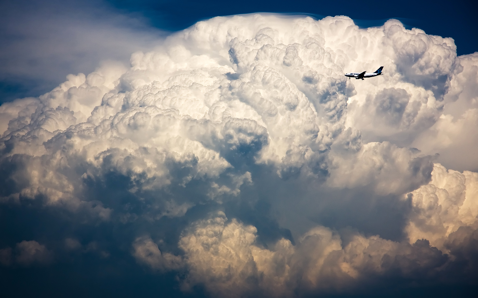 aircraft images in clouds wallpaper - photo #31