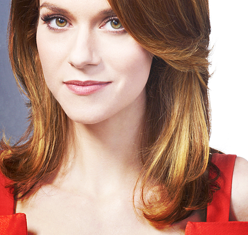 Hilarie Burton wallpaper probably with a portrait titled HIlarie   Burton White Collar