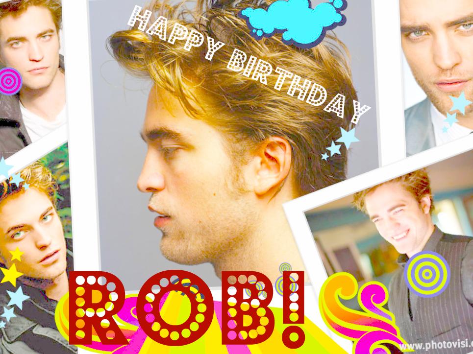 Happy Birthday Rob<3