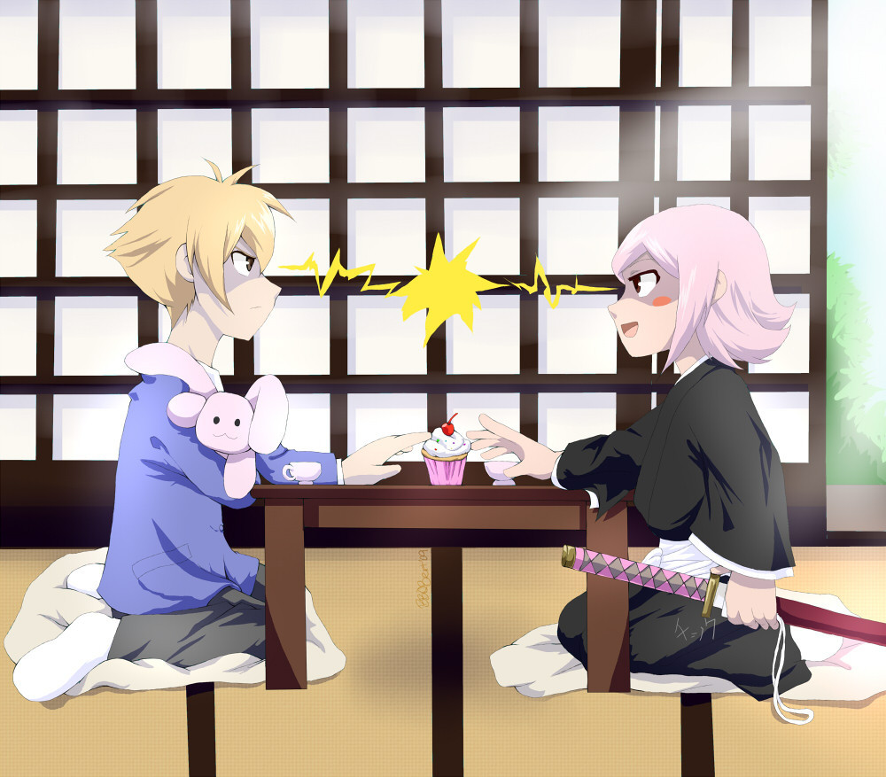 Honey-senpai VS Yachiru
