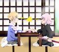 Honey-senpai VS Yachiru - anime fan art