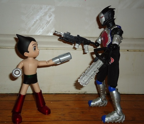 Astro Boy wallpaper probably with a breastplate, an armor plate, and a lippizan called Hot Toys Astro Boy