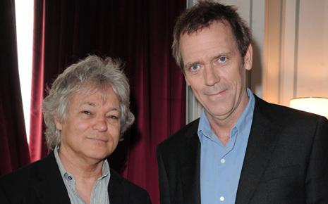 Hugh Laurie ( Dr House) et Georges Lang may 2011- Paris