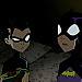 Batgirl and Robin - the-batman icon