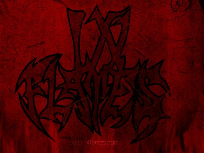 in flames wallpaper. house Roses in Flames