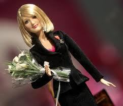 J K Rowling's Barbie doll