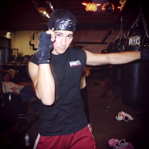 James workout