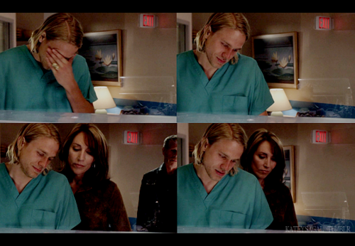 Jax at the hospital- Season 1