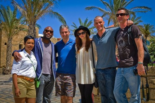 HOUSE CAST MEMBERS TOUR ISRAEL 10.05.2011