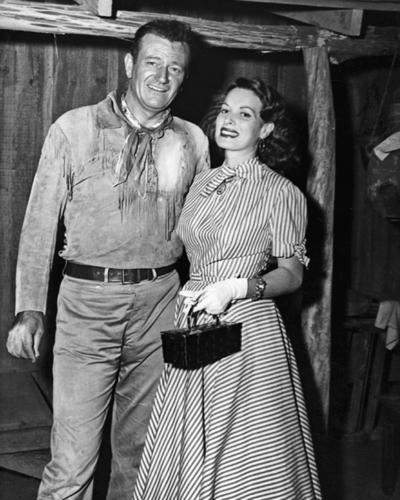 John Wayne & Maureen O'hara