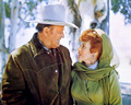 John Wayne & Maureen O'hara - john-wayne photo